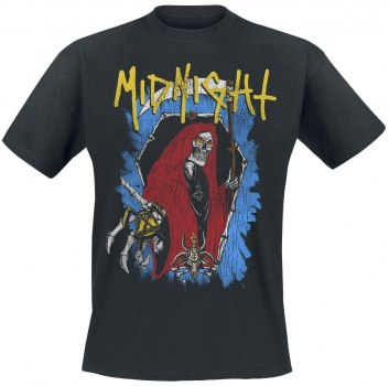 Midnight - Bone Coffin Tshirt L